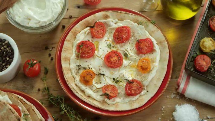 Philly Recipes Tomato Laden Flatbread